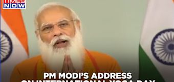 Prime Minister Narendra Modi addresses the nation on 7th International Yoga Day