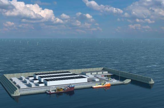 Denmark will build a wind-generating artificial island in the North Sea