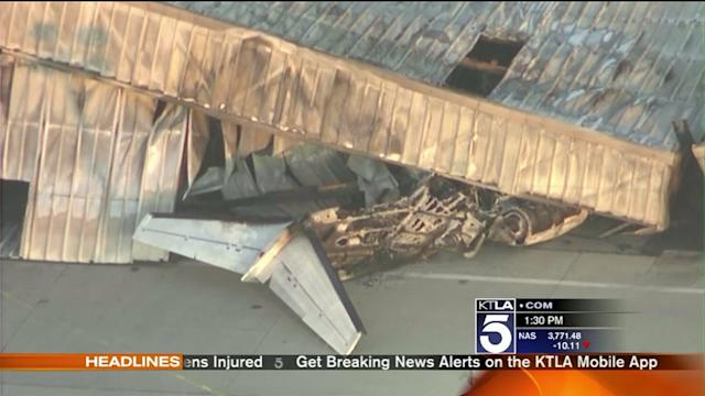 CEO, Son Believed to Be Aboard Plane in Santa Monica Airport Crash