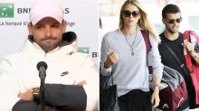 Reporter's 'creepy' Maria Sharapova question for Grigor Dimitrov