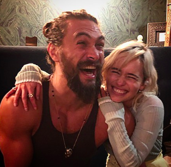 Emilia Clarke Reunites With 'Game Of Thrones' Husband And