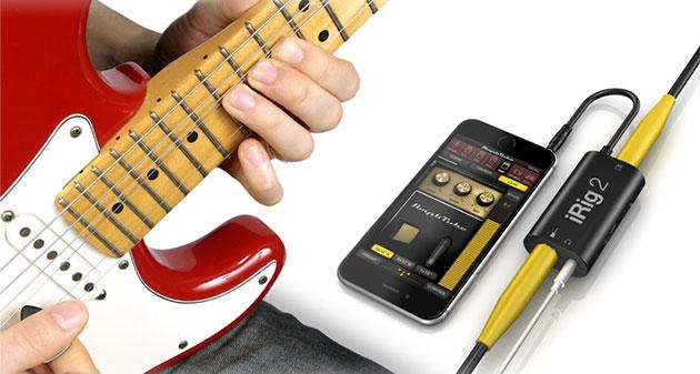 For Irig Guitar Effects Replace Guitars With Phone Guitar Interface Conver  RZ