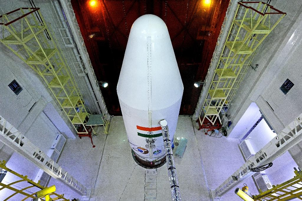 ISRO made global headlines in 2013 after it successfully launched an unmanned mission to orbit Mars, spending just $73 million (AFP Photo/)