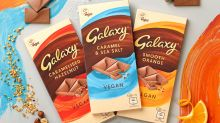 Mars to launch vegan Galaxy bar in three flavours