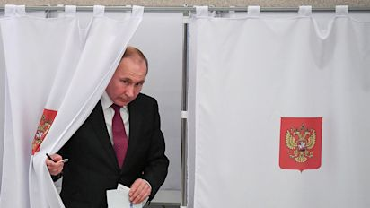 As expected, Putin wins another six-year term