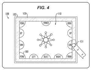 Apple updates patent for touchscreen device