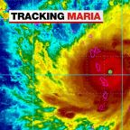 Hurricane Maria makes landfall in Puerto Rico