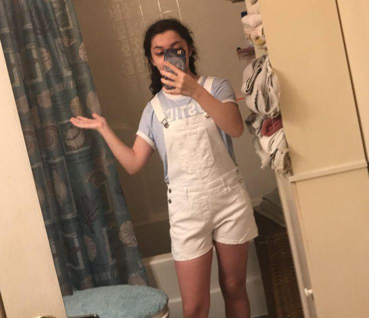 When Black Hair Violates Dress Code >> Student Receives Dress Code Violation For Short Overalls