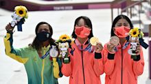 The deeper meaning behind the bouquets at the Tokyo Olympics