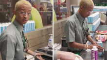 Will Smith's son Jaden goes undercover as Woolworths cashier