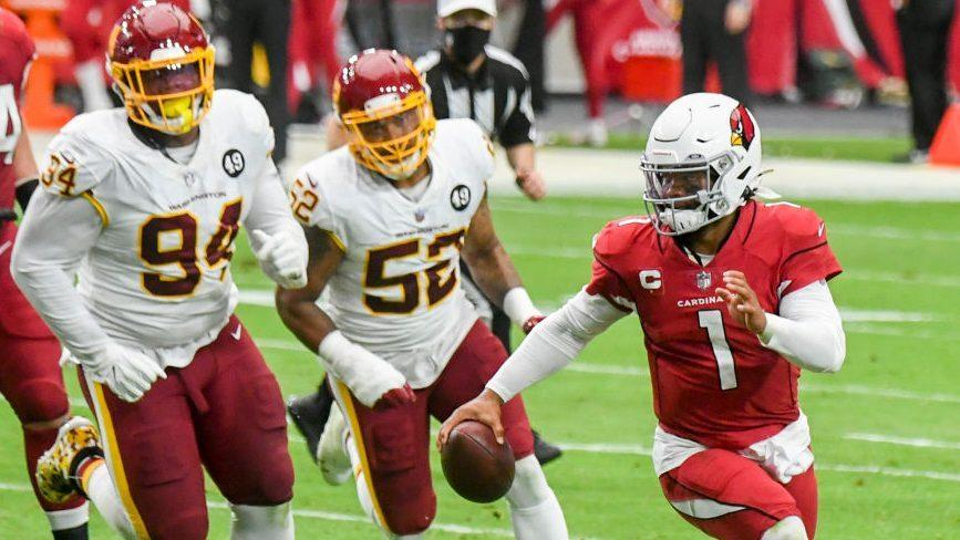 Kyler Murray's rushing output is on a record pace