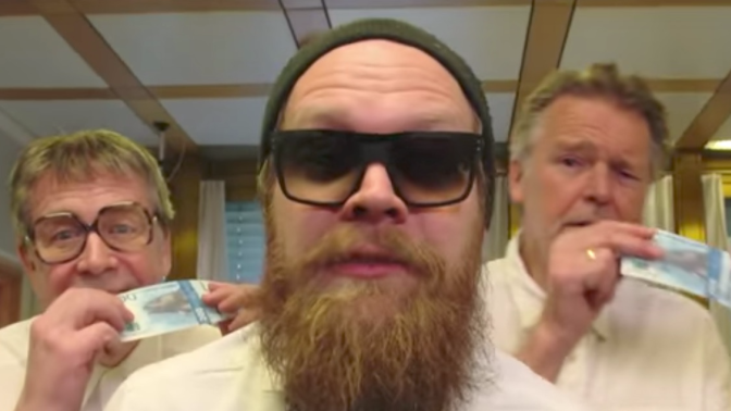 Norway's central bank has made a bizarre music video to celebrate its new 'cod' banknotes