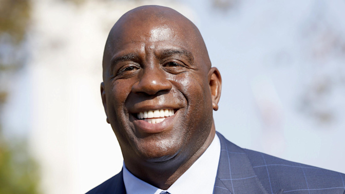 Saving the moribund LA Lakers could be Magic Johnson's greatest trick of all