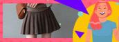 艾爾莎時尚百摺短裙