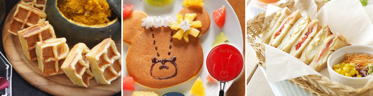 DIY可愛健康的美味鬆餅