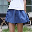 韓國熱銷實搭鬆緊腰圍褲裙