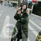 秋冬新款大毛領加厚保暖外套