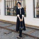 韓國早春新款甜美小香風長洋裝