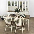 英式溫莎‧餐桌椅仿舊系列