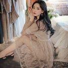韓國古董蕾絲重工定染長洋裝