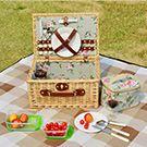 柳籐編織手提野餐籃