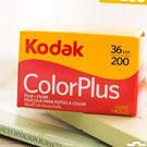 Kodak color plus 200度 彩色負片