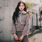 韓國40%羊毛小香風花呢套裝