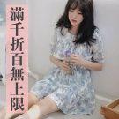 【出清價】優雅蘭花顯瘦洋裝