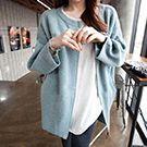 韓系 蝙蝠袖針織外套