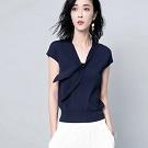 優雅氣質款V領針織衫