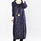 日系 棉麻連身裙洋裝