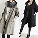 韓版時尚長版大衣外套