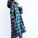 原創 連帽貓咪印花連身裙