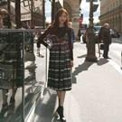 韓國秋裝氣質休閒兩件套洋裝
