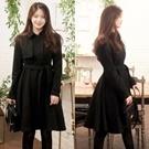 ♥正韓法式裙襬顯瘦優雅外套