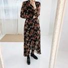 韓國小氣質休閒洋裝