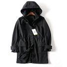 超值款~德國品牌防水.搖粒絨加厚中長款風衣外套 (售完為止)