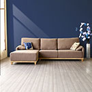 杜哈L型環保乳膠布沙發乳膠坐墊更加舒適