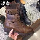 韓國超質感工程靴