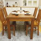 自然田園餐桌椅組