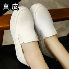 韓國厚底增高小白鞋