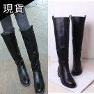 韓國簡約長筒靴