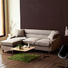 小資簡約L型布沙發小空間的最愛
