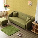 竹町L型獨立筒布沙發可自由變換左右型