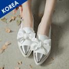 韓.磨砂木紋高跟短靴