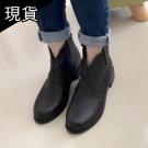 韓國V字顯瘦踝靴