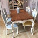 南法仿舊鄉村款餐椅