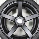 VOSSEN CV3 18吋 消光黑輪胎鋁圈組
