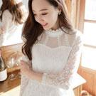 夢幻蕾絲長袖洋裝 連身裙
