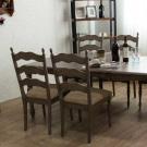 美式簡約餐桌椅組